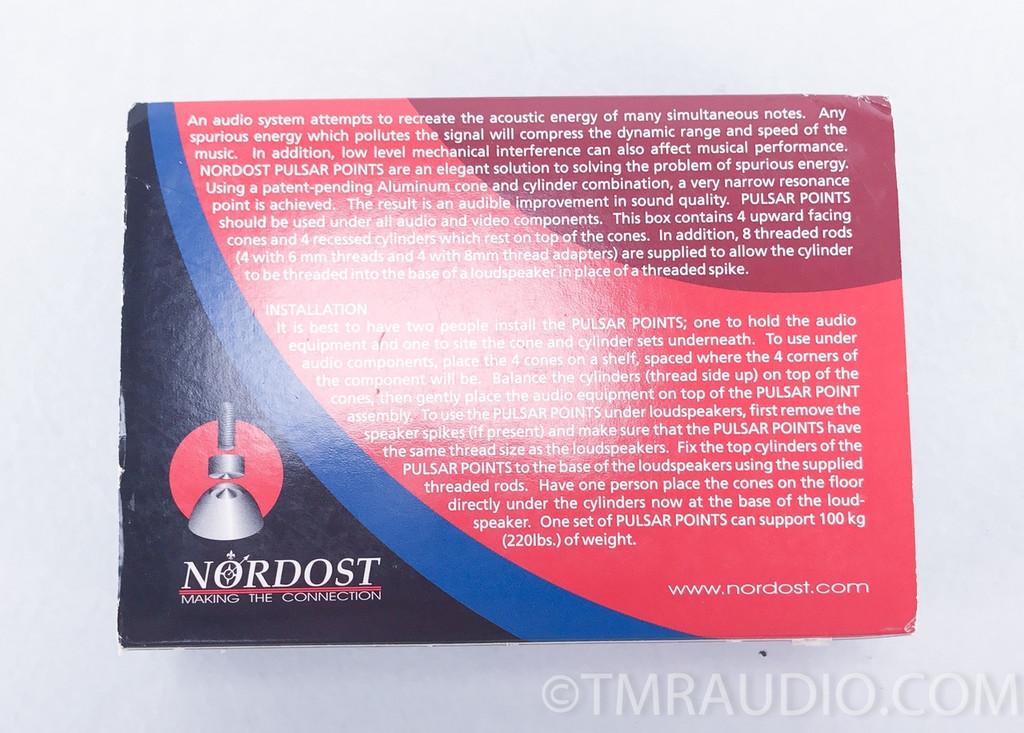 Nordost Pulsar Points Isolation Feet; Set of 4