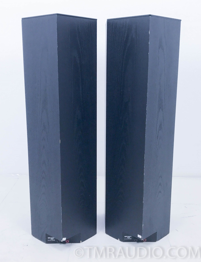 B&W DM 3000 Floorstanding Speakers; Pair Bowers & Wilkins DM3000; Black