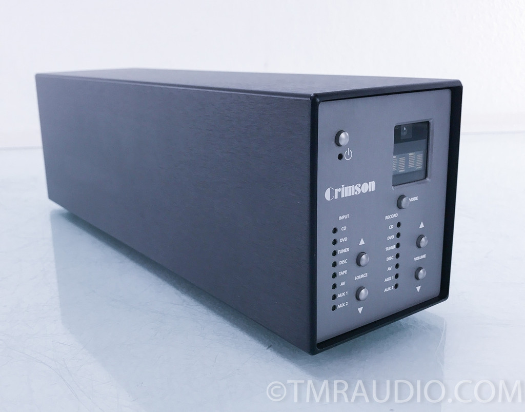 Crimson Electronics 710 Preamplifier; 640E Mono Power Amplifiers; Pair
