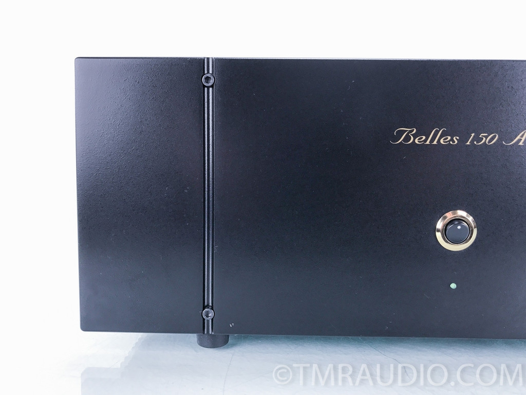 Belles 150A Hot Rod Stereo Power Amplifier; Black