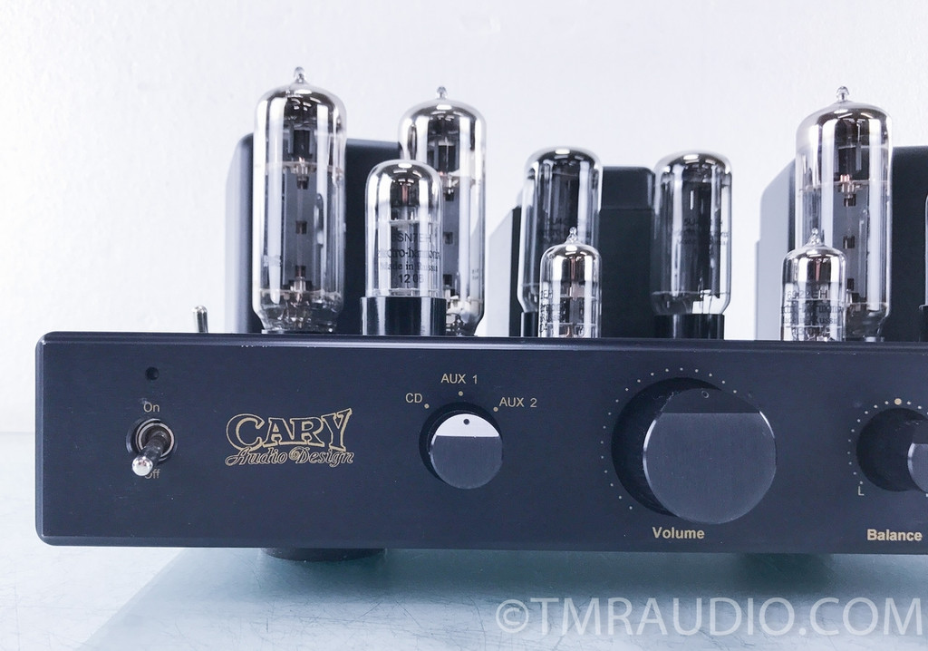 Cary SLI-80 Tube Stereo Integrated Amplifier w/ Headphone