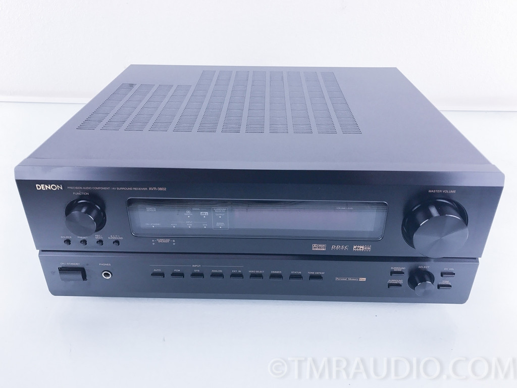 Denon AVR-3802 7.1Ch Home Theater Receiver