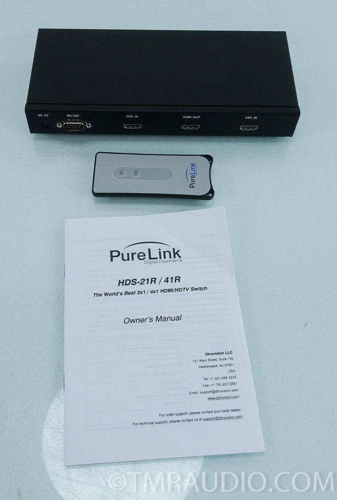 PureLink HDS-21R HDMI Switcher