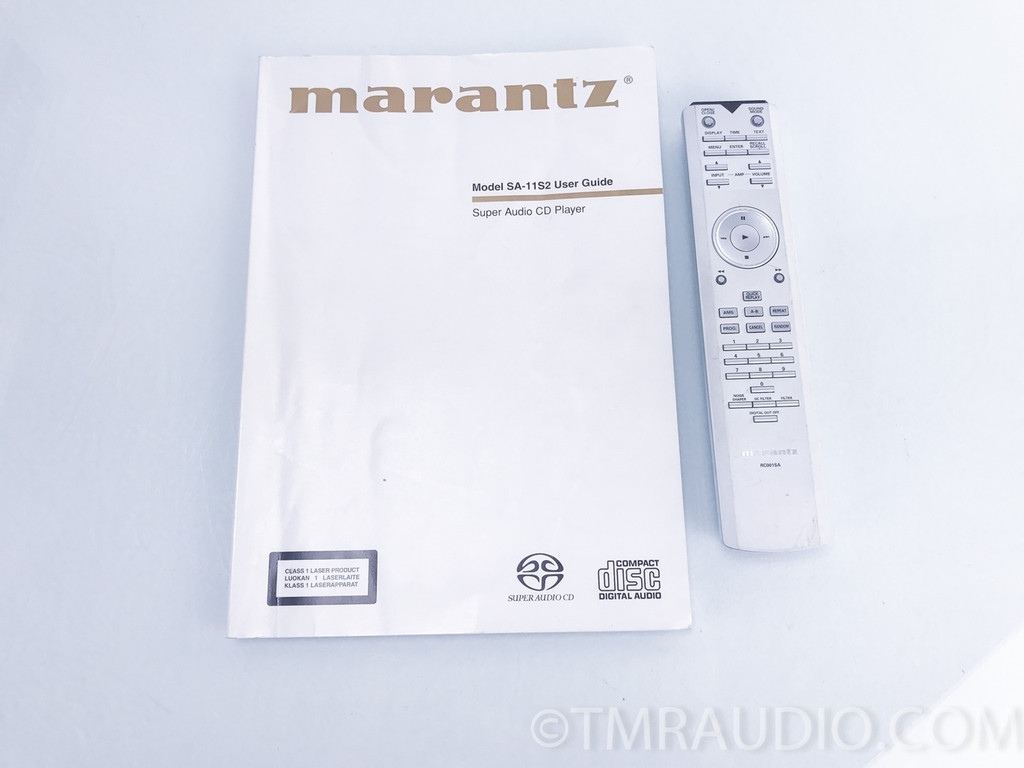 Marantz SA-11S2 SACD / CD Player 1