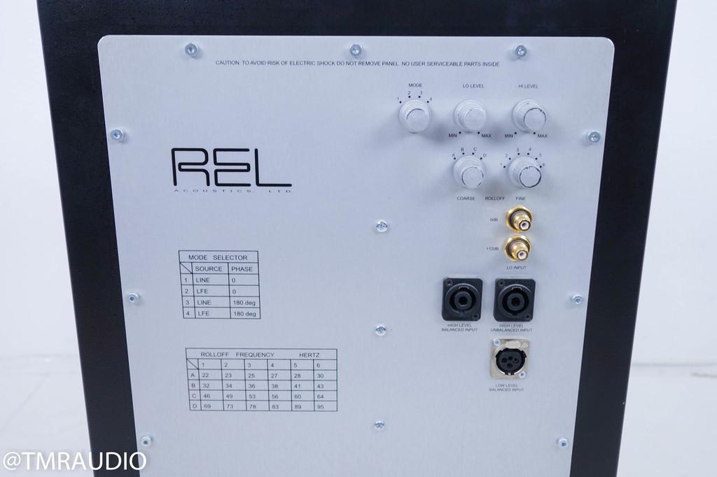 REL Acoustics Britannia B1 Powered Subwoofer; Black