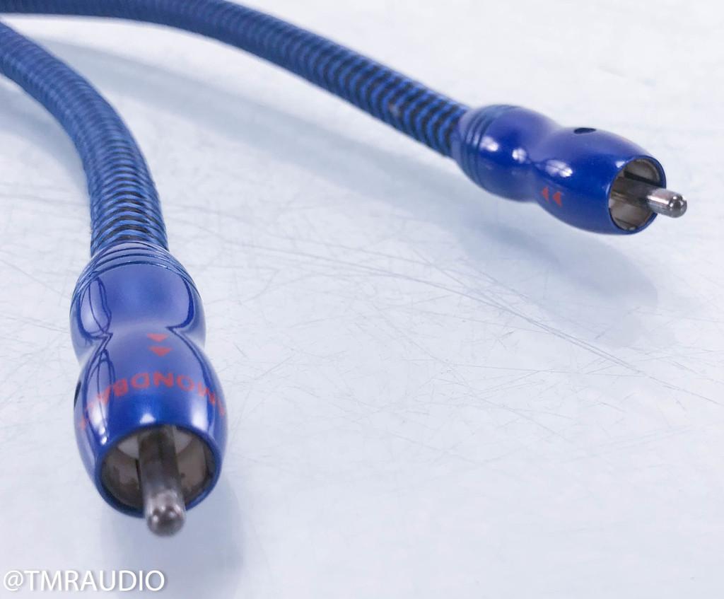 AudioQuest Diamondback RCA Cable; Single 2m Interconnect