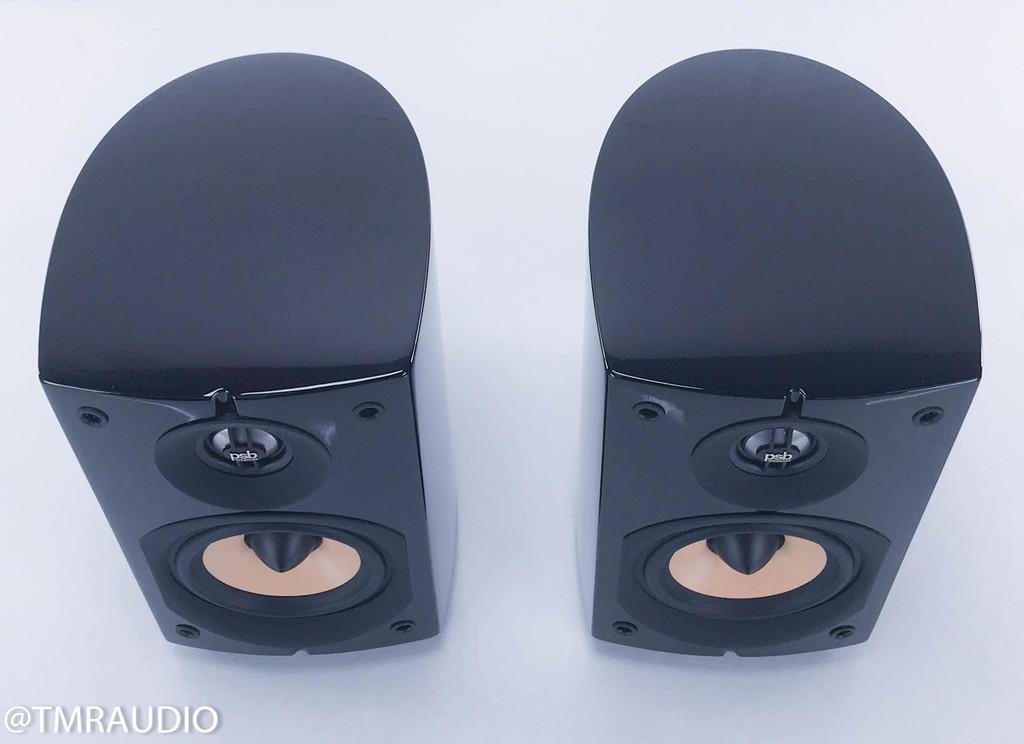 PSB Image Mini Bookshelf Speakers; Piano Black Pair