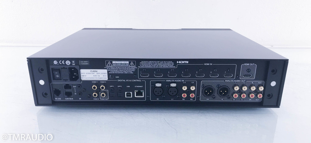 Classe Sigma SSP Surround Sound Processor / Preamplifier