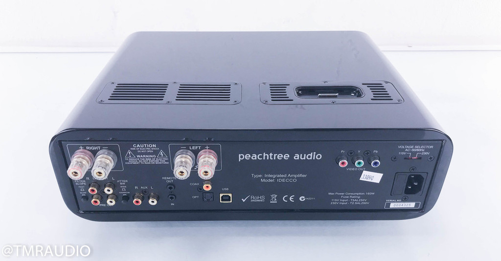 Peachtree Audio iDecco D/A Integrated Stereo Amplifier; Remote