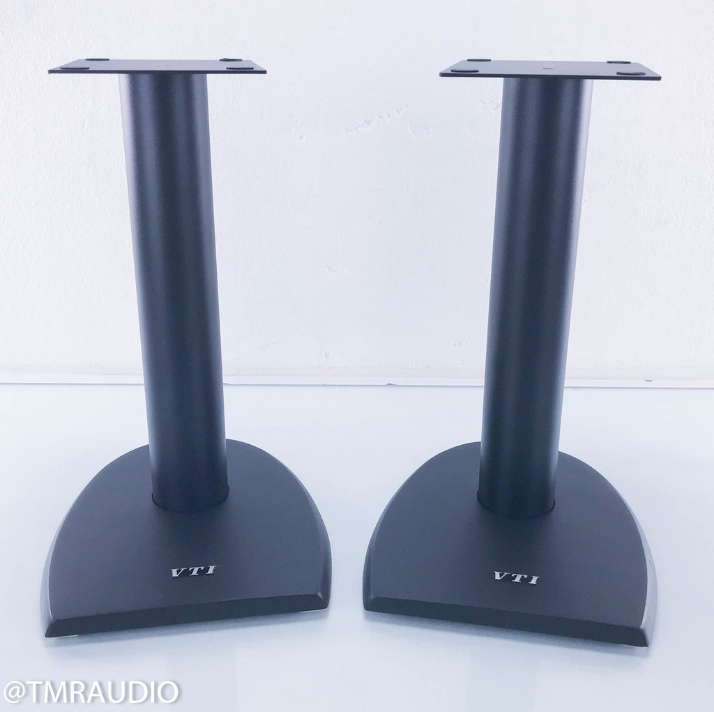 VTI DF SERIES 19 INCH CAST IRON SPEAKER STANDS (BLACK) DF19B