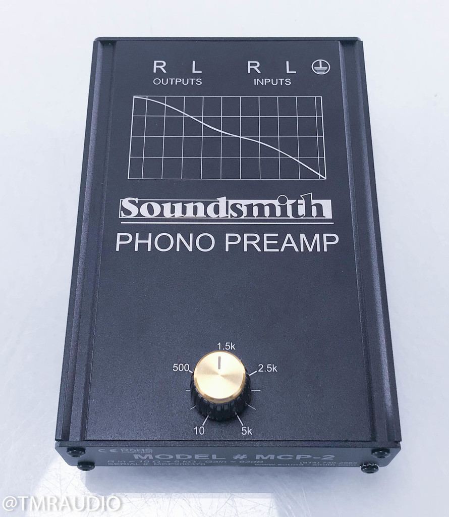 Soundsmith MCP-2 Moving Coil Phono Preamplifier