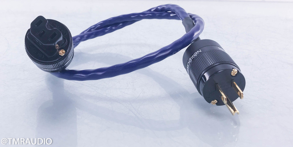 Nordost Blue Heaven Power Cable; 1m AC Cord; 15A plug