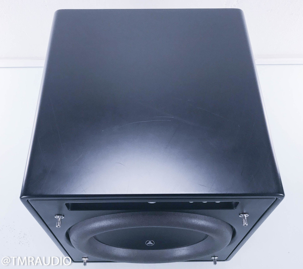 JL Audio Fathom F113 13.5-inch Powered Subwoofer, Satin Black