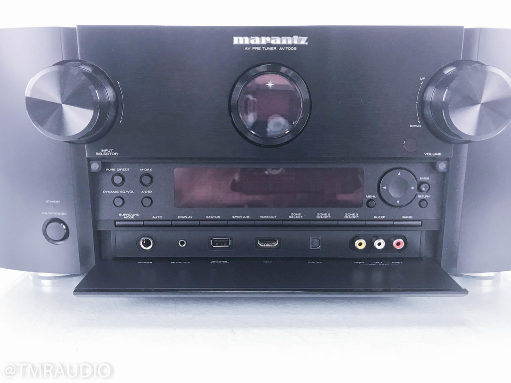 Marantz AV7005 7.1 Channel Home Theater Processor / Preamplifier; Remote