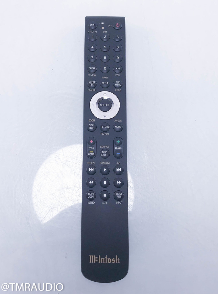 McIntosh HR086 Remote Control