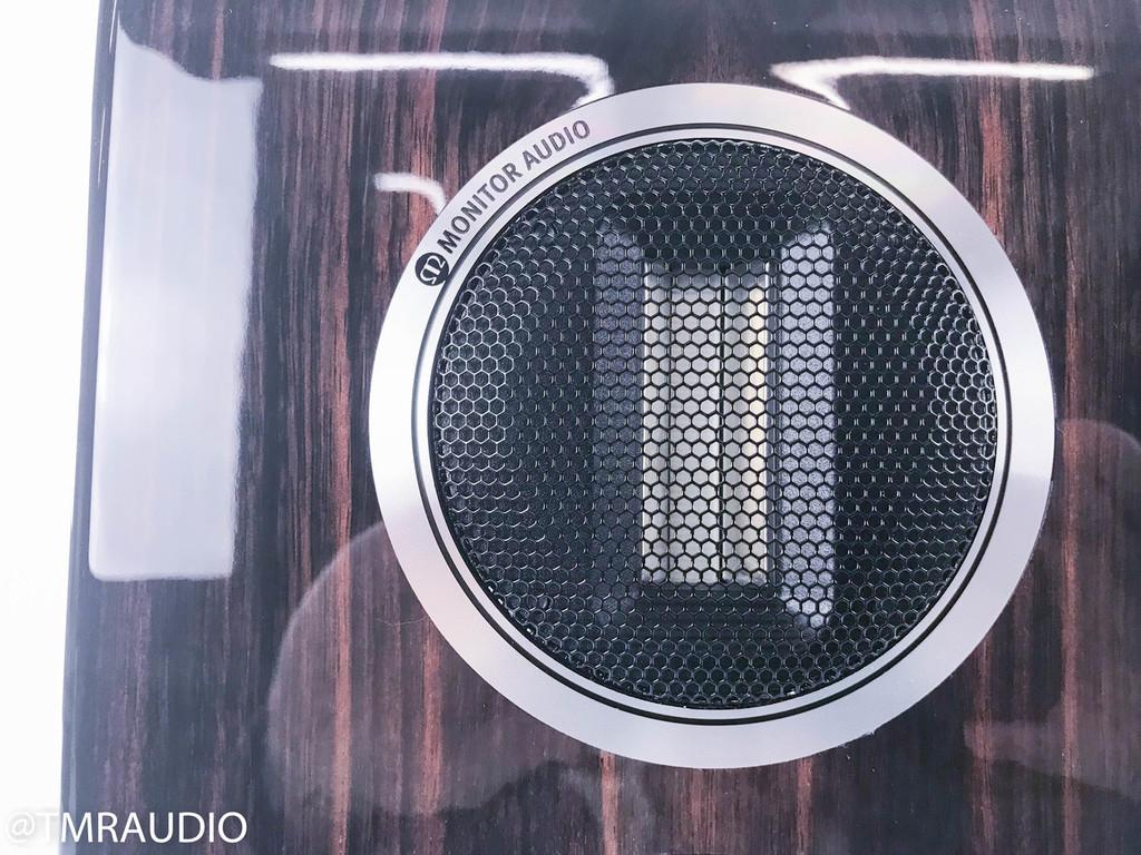 Monitor Audio Gold 100 Bookshelf Speakers; Piano Ebony Pair