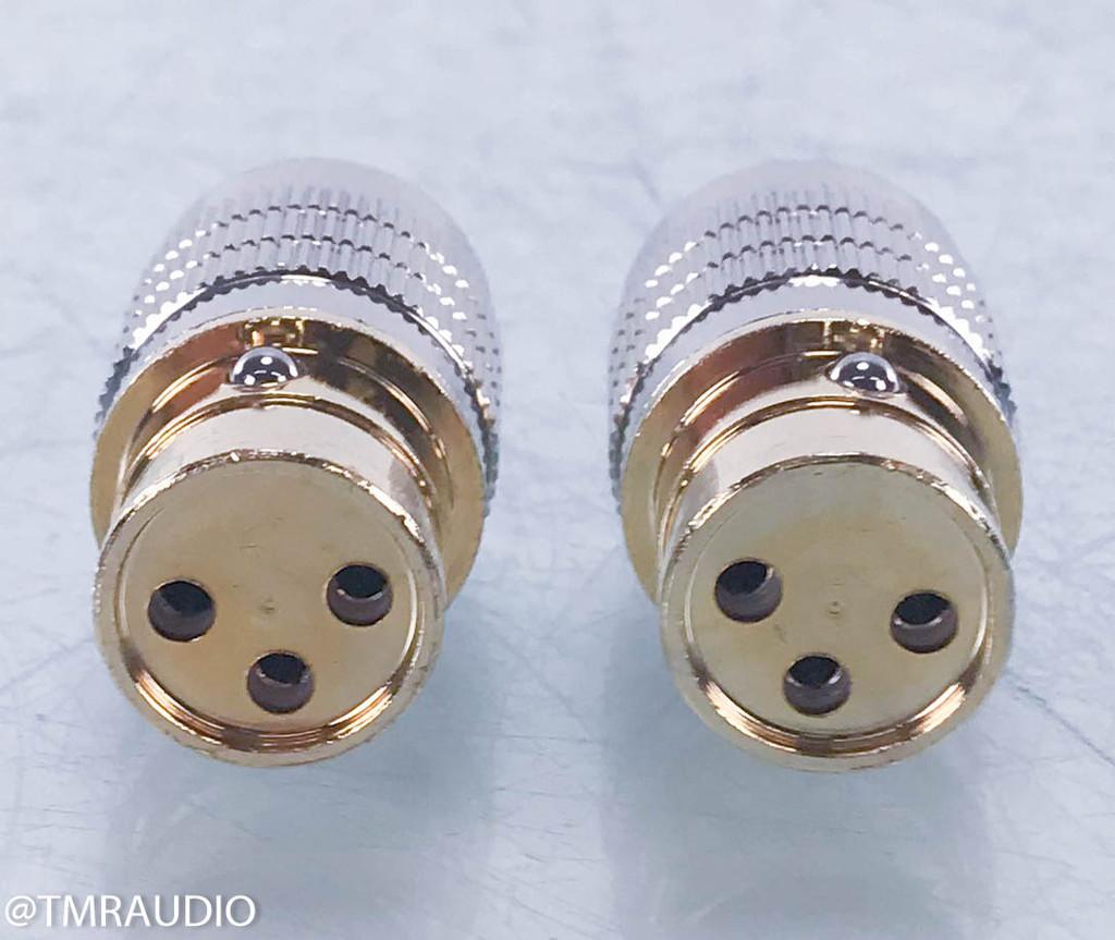 Cardas Audio GCA Clear Female RCA To Female XLR Adapter; Pair