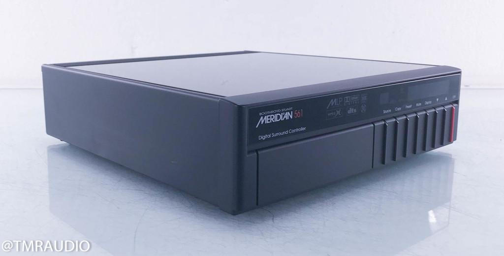 Meridian 561 Digital Surround Processor; MSR Remote
