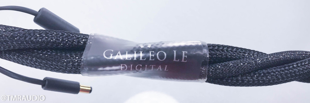 Synergistic Research Galileo LE Digital RCA Digital Coaxial Cable; Single 1m SPDIF