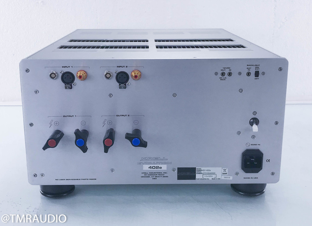 Krell Evolution EV 402e Stereo Power Amplifier