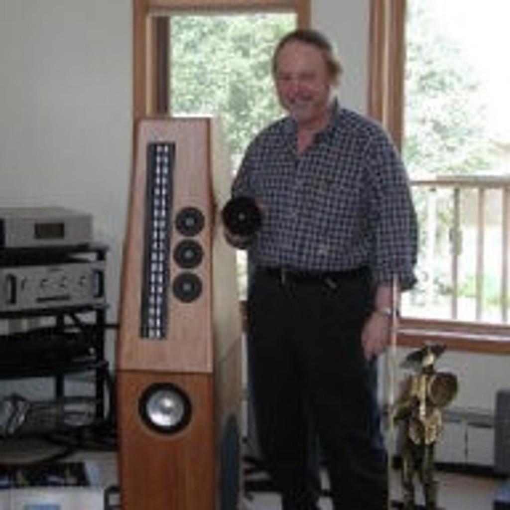 Genesis Prototype Floorstanding Speakers; One-of-a-kind Pair of Arnie Nudell Classics