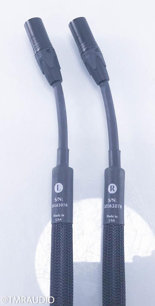 Purist Audio Design Aqueous Aureus Luminist Revision XLR Cables; 1.5m Pair Interconnects