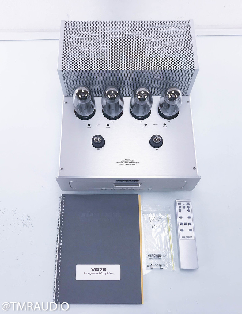 Audio Research VSi75 Stereo Integrated Tube Amplifier; VSI-75