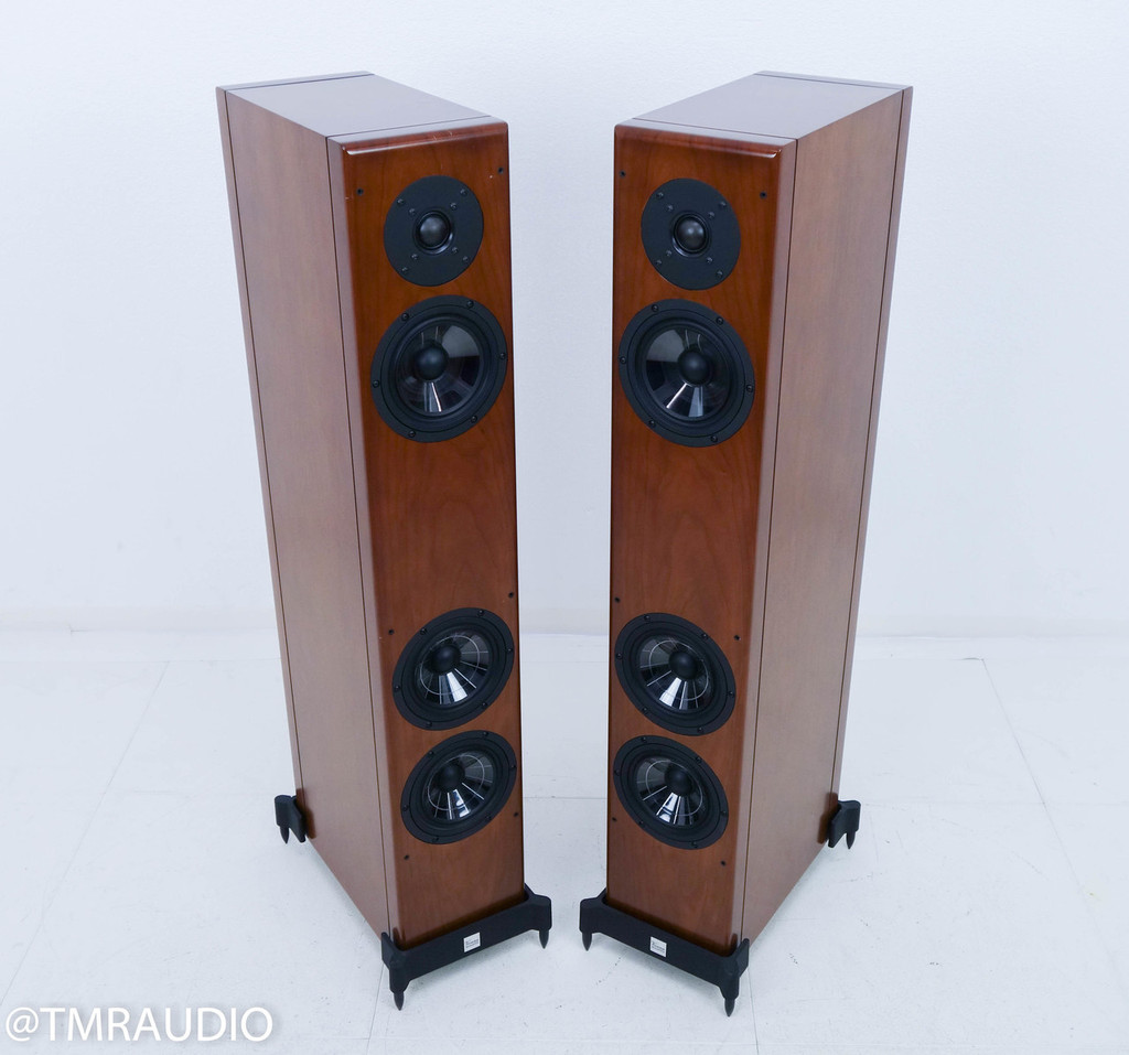 Vienna Acoustics Beethoven Baby Grand Floorstanding Speakers; Cherry Pair
