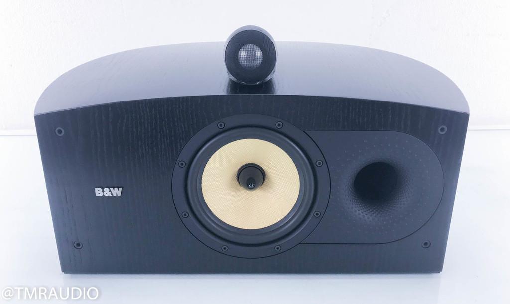 B&W Nautilus HTM2 Center Speaker; Black Ash