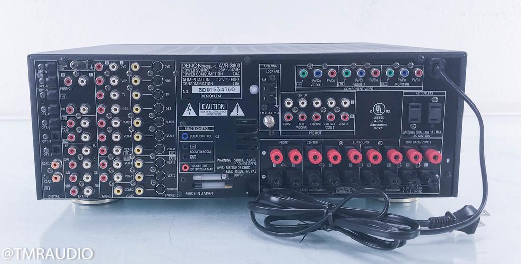 Denon AVR-3803 Home Theater Receiver (No remote)