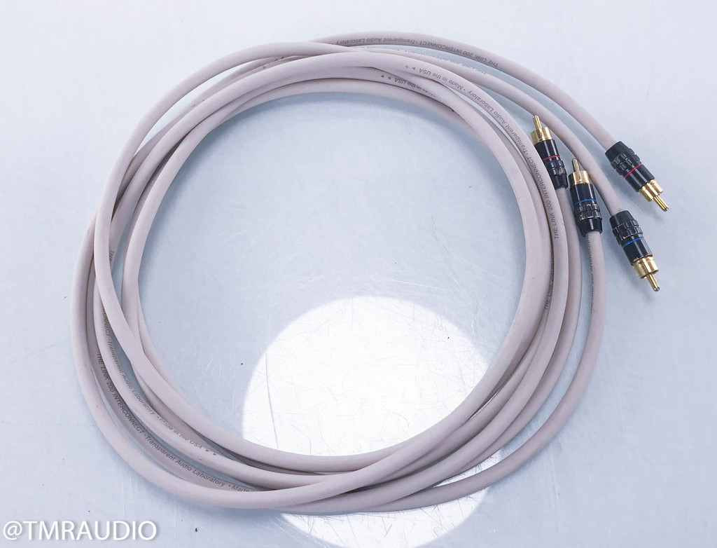 Transparent The Link 200 RCA Cables; 2m Pair Interconnects