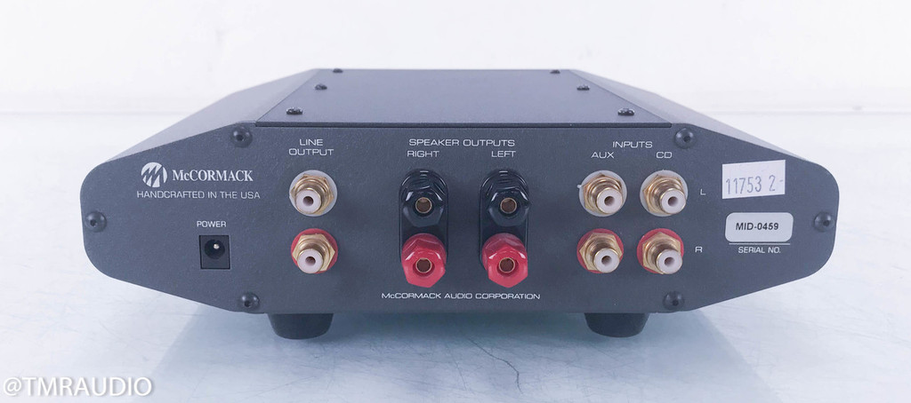 McCormack Micro Integrated Drive Headphone Amplifier; Stereo Integrated Amplifier
