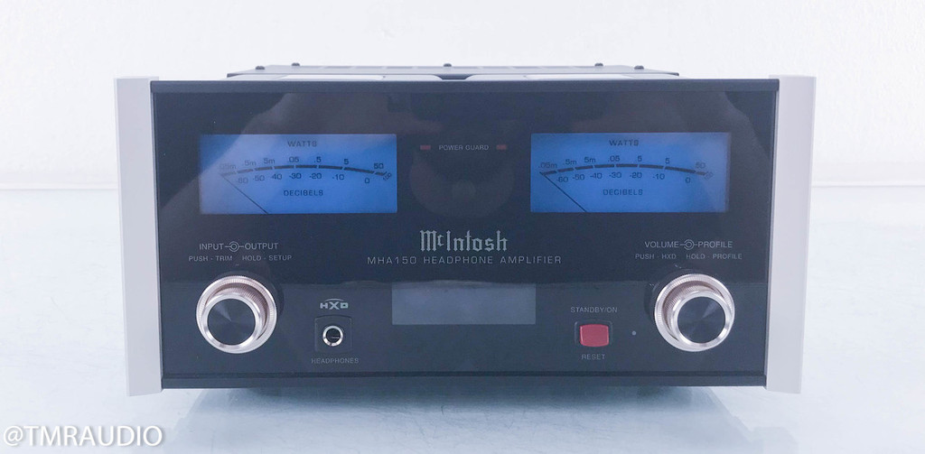 McIntosh MHA150 Headphone Amplifier; Integrated Amplifier MHA-150