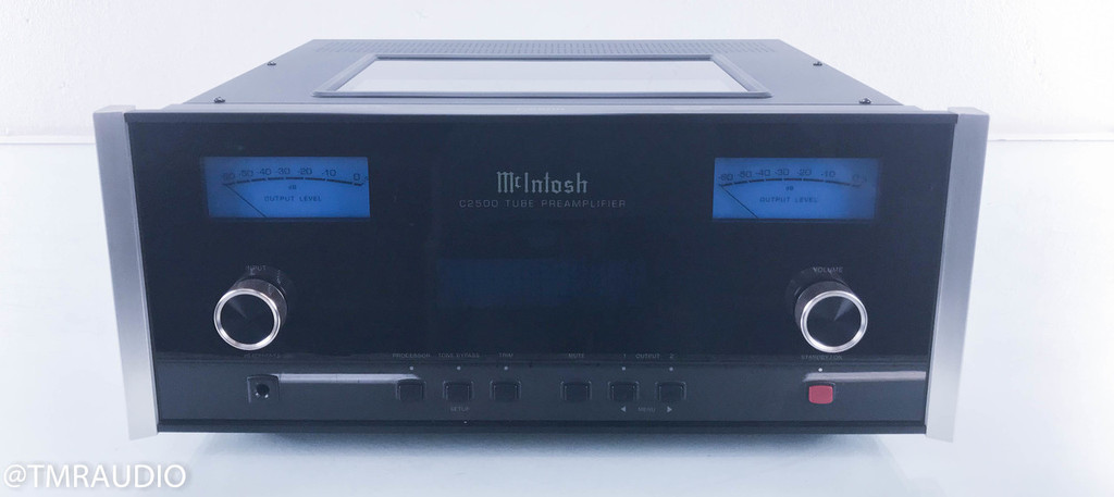 McIntosh C2500 Stereo Tube Preamplifier w/ Mullard Tubes