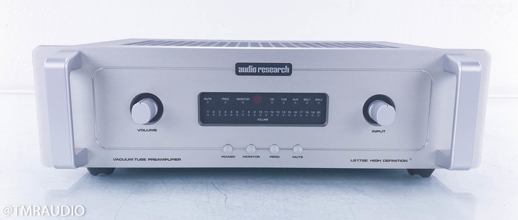 Audio Research LS17SE Stereo Tube Preamplifier