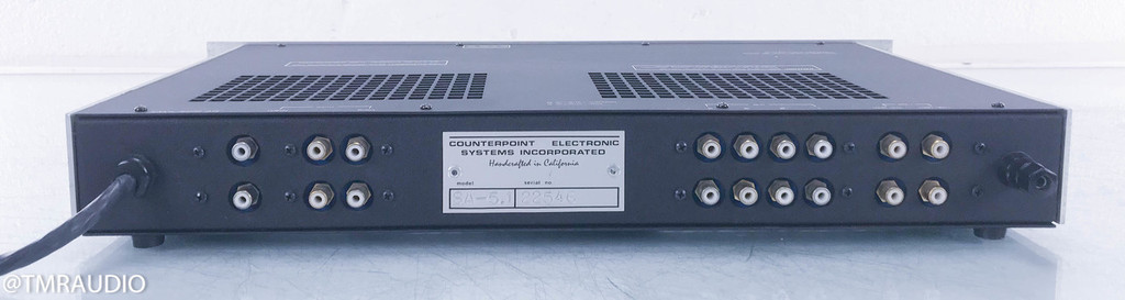 "Counterpoint SA-5.1 ""Vintage"" Stereo Tube Preamplifier w/ Power Supply"