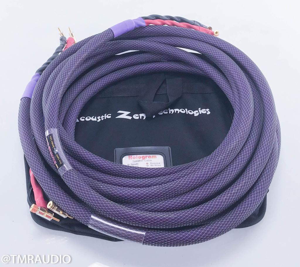 Acoustic Zen Hologram II Speaker Cables; 18 ft. Pair