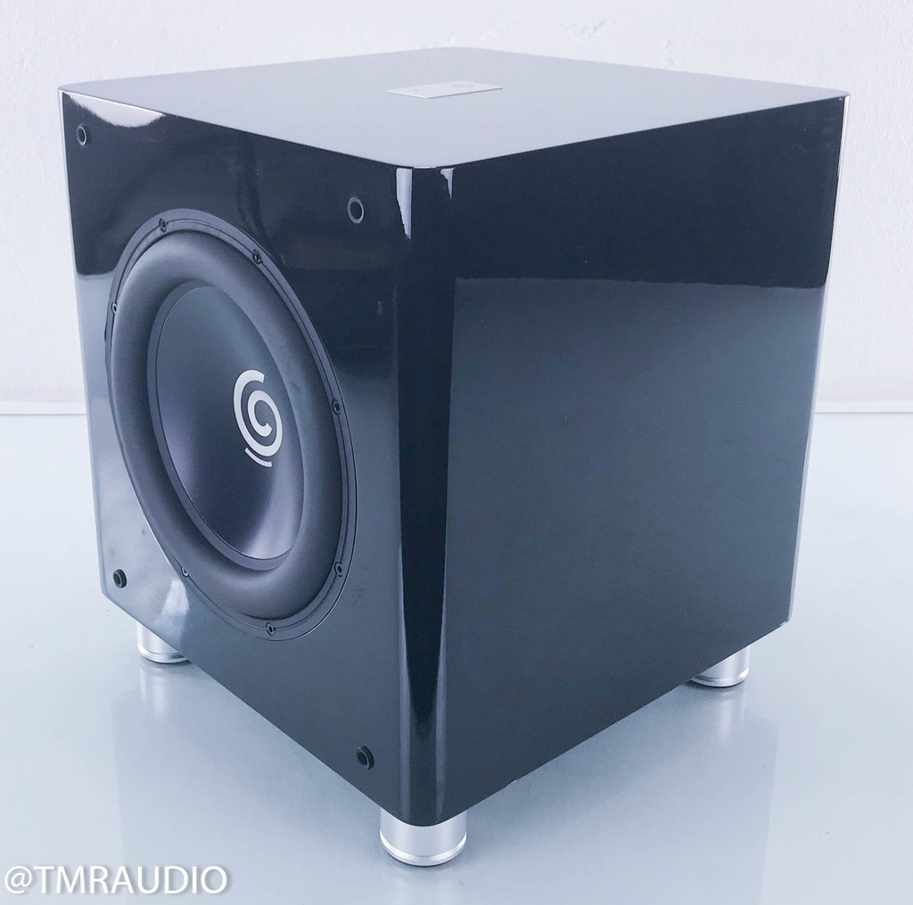 Sumiko S.9 Powered Home Theater Subwoofer; Piano Black