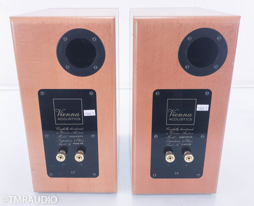 Vienna Acoustics Haydn Bookshelf Speakers; Cherry Pair