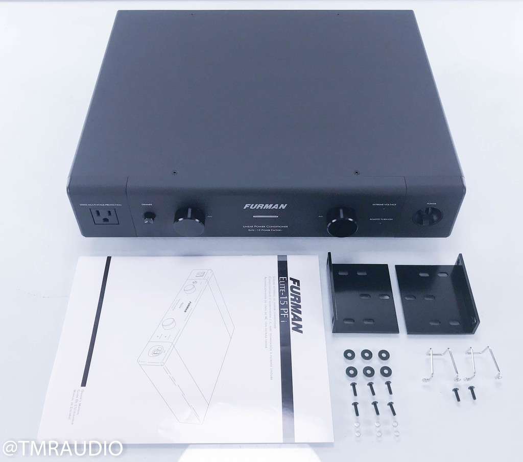Furman Elite-15 Power Factor i Power Conditioner; PFi