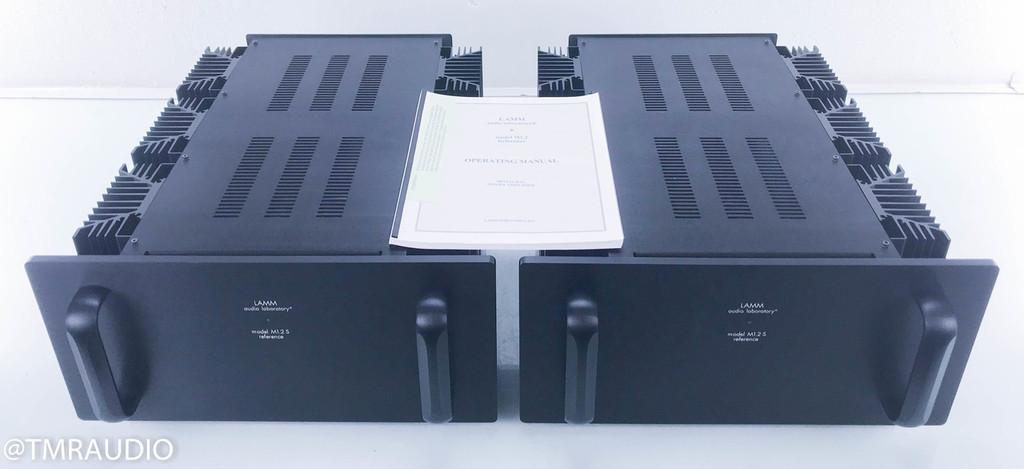 Lamm M1.2 S Reference Mono Power Tube Hybrid Amplifier; Pair