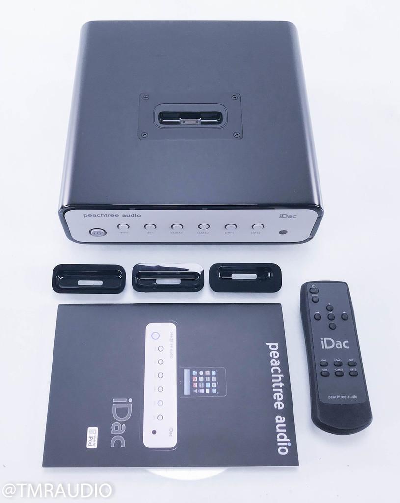 Peachtree Audio iDAC DAC; D/A Converter; iPod Dock
