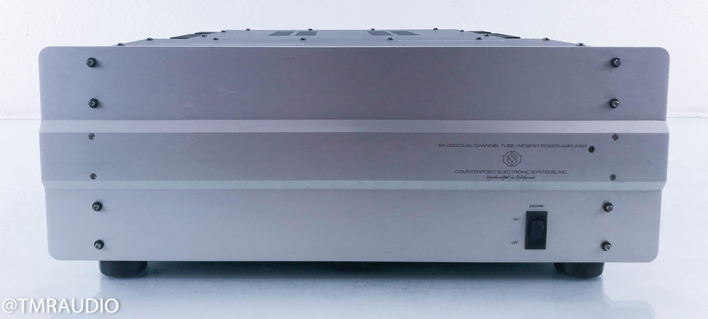 Counterpoint SA-220 Hybrid Stereo Power Amplifier (AS-IS / low output)