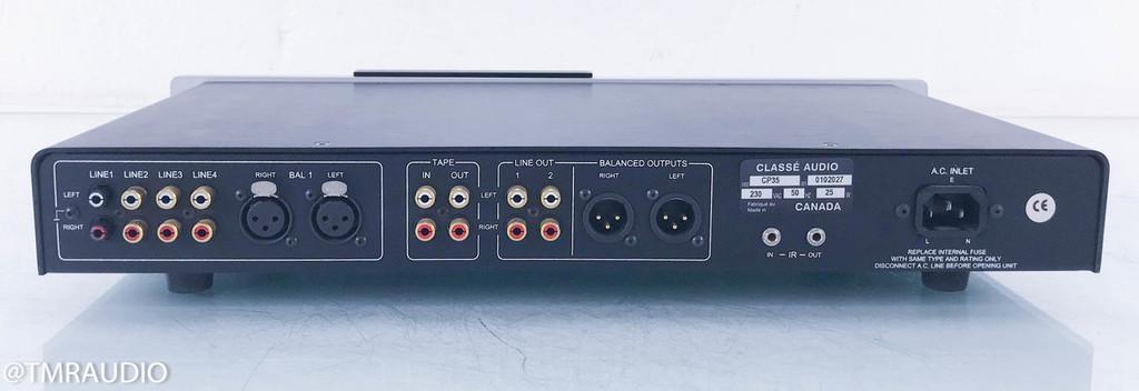 Classe  CP-35 mk 2; Stereo Preamplifier (230v; One Broken Input)