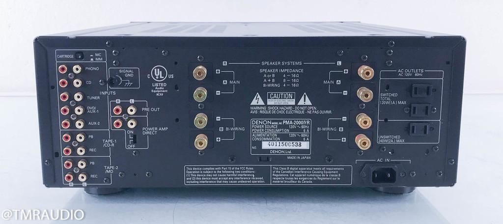Denon PMA-2000 IV R Stereo Integrated Amplifier