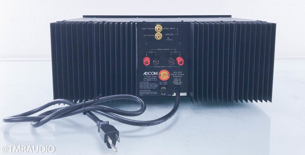 Adcom Model GFA-555 Stereo Power Amplifier