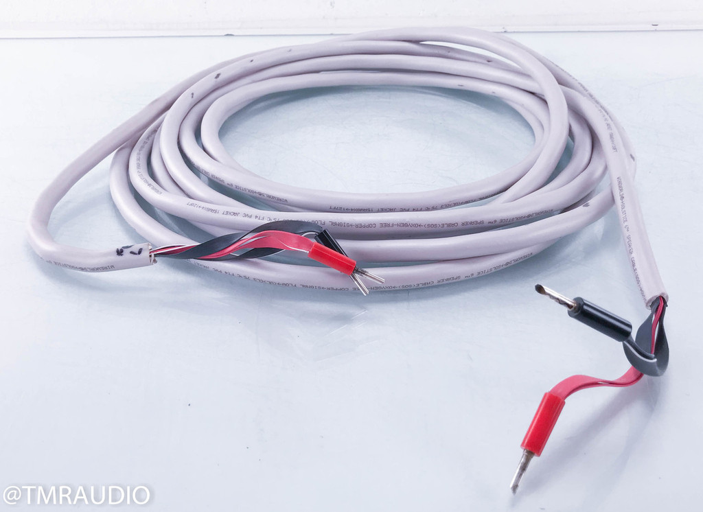 Wireworld Solstice 6 Speaker Cable; Single 31ft Length (Custom bulk cut)