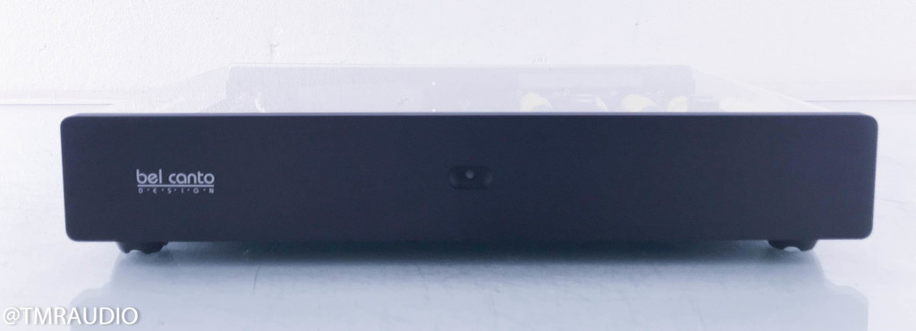 Bel Canto Fidelio Phono Preamplifier w/ Ace Tomato Upgrades; Clear Acrylic Cover