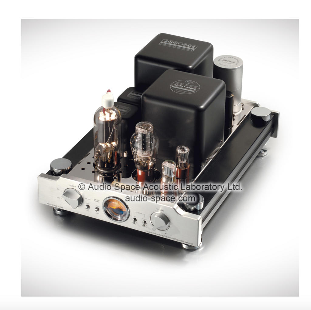 Audio Space Reference Three (805) Mono Tube Power Amplifiers; Silver Pair; (New / Open Box)