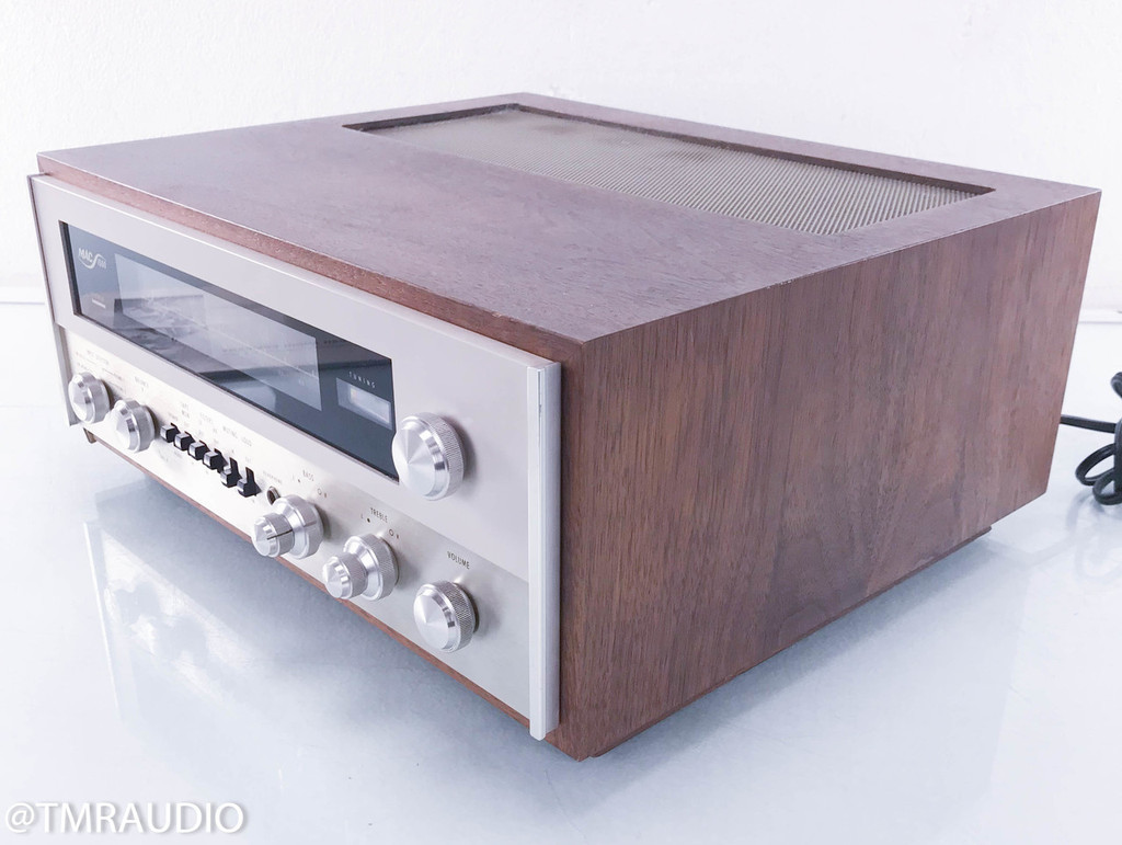 McIntosh MAC 1500 Vintage Tube Receiver (Power Switch Fixed to On)